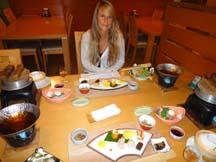Dinner at Hotel Subaru