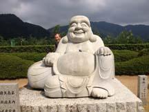 Fat Buddha at Nachi