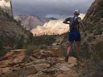 coming off the East Rim, photo by Andy Skurka