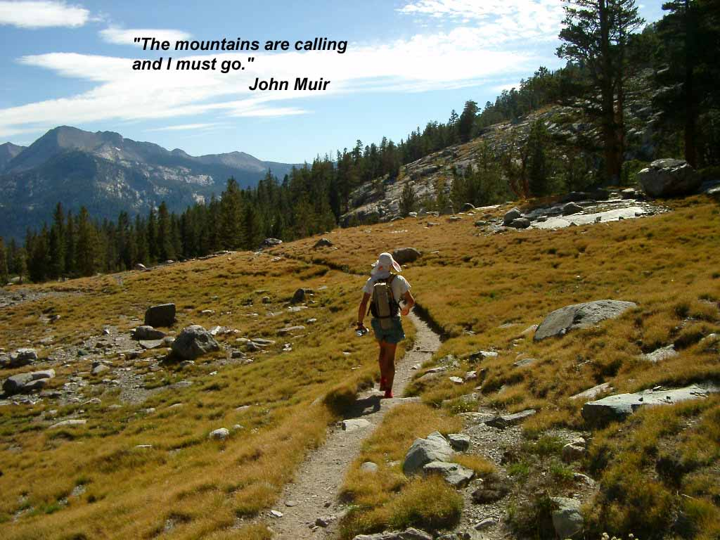John Muir Trail CA  Fastest Known Time